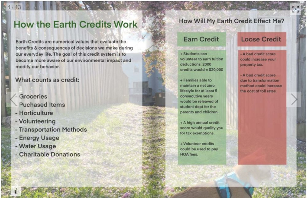 Green New Deal-inspired project envisions world where 'Earth Credits' determine 'your property tax'